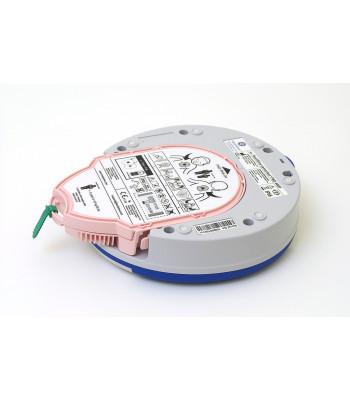 Défibrillateur + PadPak vue arrière