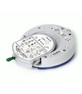Combiné batterie électrodes adultes PadPak dans le défibrillateur