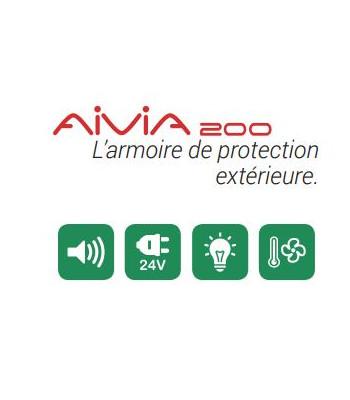 Protection extérieur - Armoire Pyrescom Aivia 200