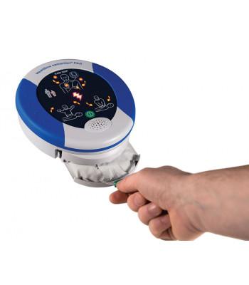 Accès facile aux électrodes du Samaritan PAD 360P