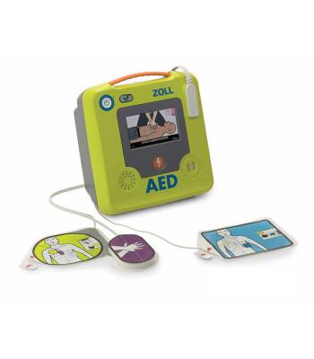 Zoll AED 3 semi-automatique + électrodes et capteur RCP