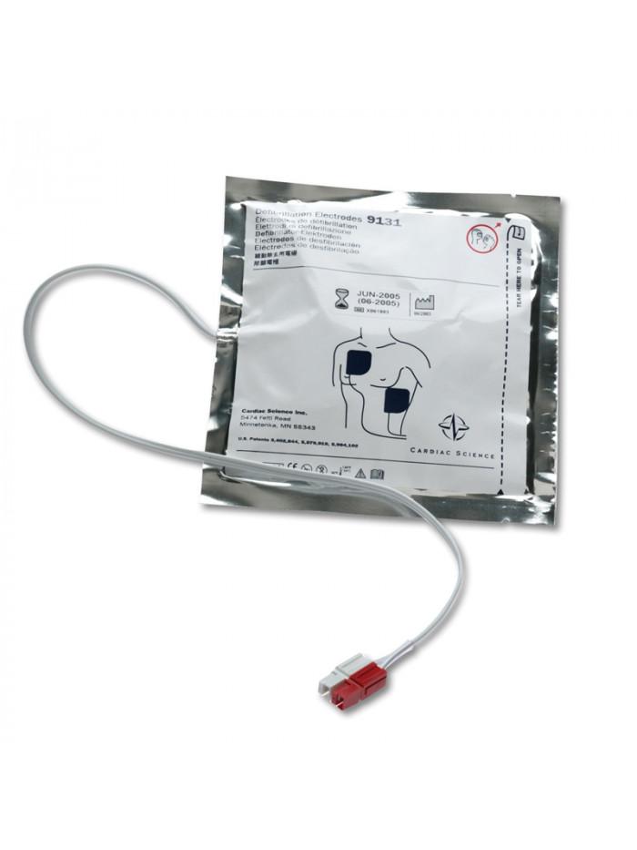 Electrodes adultes sans RCP pour Cardiac Science Powerheart G3