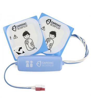 Electrodes pédiatriques pour Cardiac Science Powerheart G3