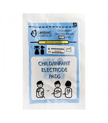 Emballage d'électrodes pédiatriques pour Cardiac Science Powerheart G3