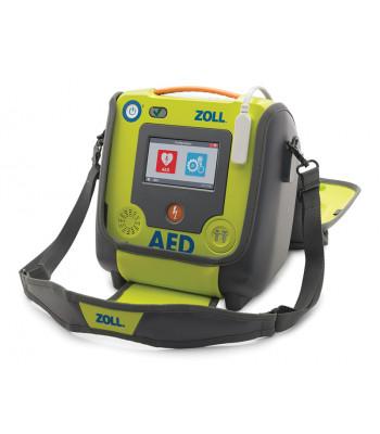 Sacoche pour défibrillateur pour ZOLL AED 3 ouverte