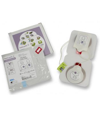 Electrodes pédiatriques Pedi-Padz ZOLL AED Plus