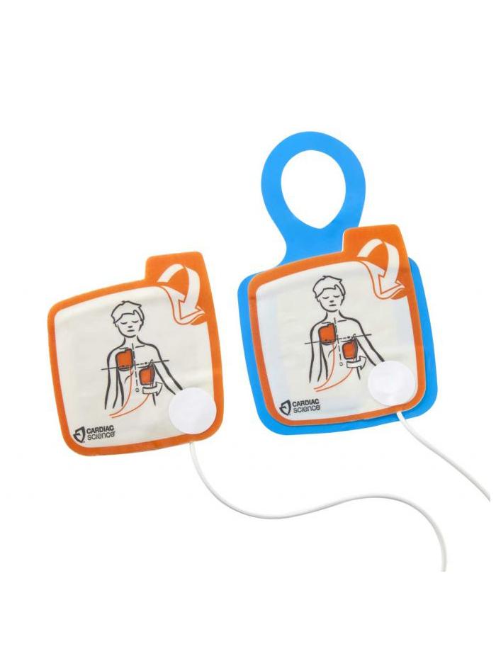 Electrodes pédiatriques pour Cardiac Science PowerHeart G5