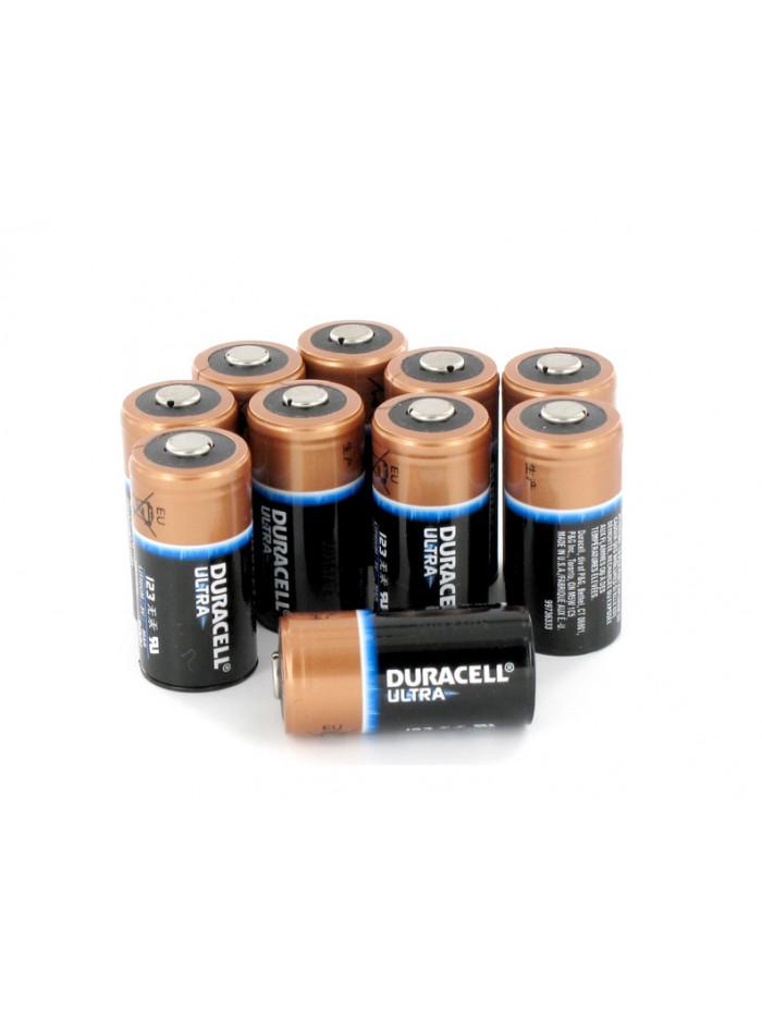 Lot de 10 piles au lithium pour Zoll AED Plus
